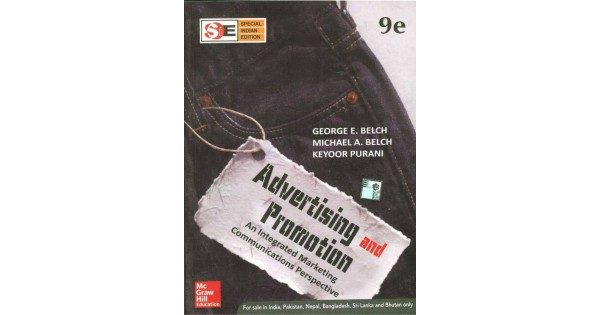 Advertising And Promotion An Integrated Marketing Communications Perspective 9th Edition English Paperback Michael A Belch Keyoor Purani
